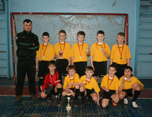 Победа в турнире по мини-футболу