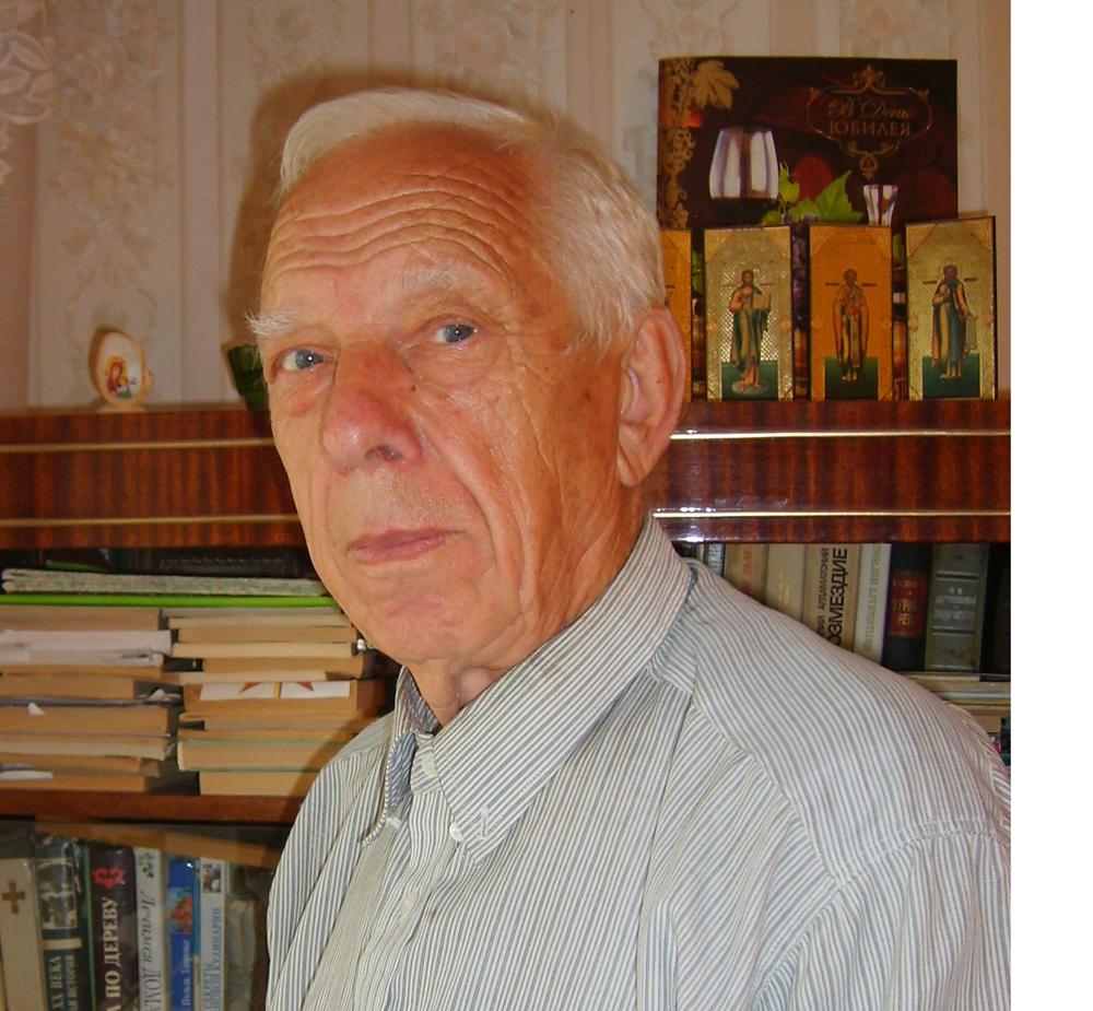 Ветеран труда Владимир Семёнович Гатцук.