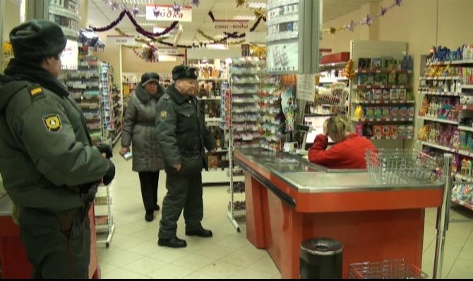 """Ограбление в магазине """"Праздничный"""", Малоярославец"""