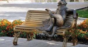 Памятник Ёшкиному коту.