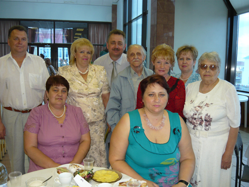 Коллектив Малоярославецкого музейно-выставочного центра.
