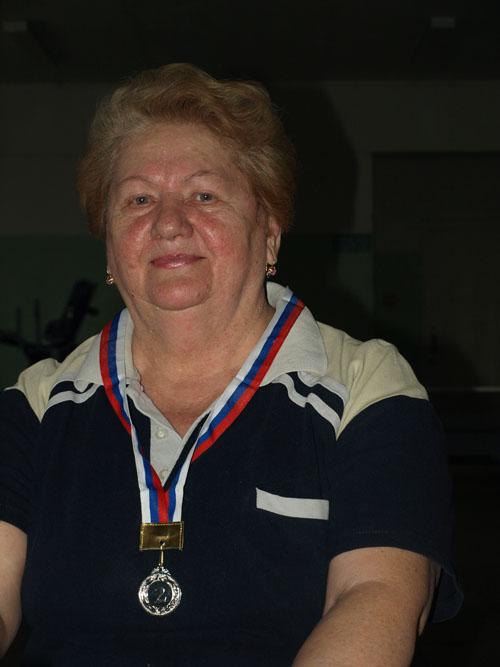 Татьяна Петровна Левус.